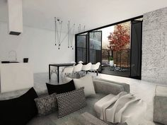 These three homes from M2 Architecture, Mihail Vasin, and Dorota Pilor essentially define the modern minimalistic style. Each home embraces the simplicity of wh
