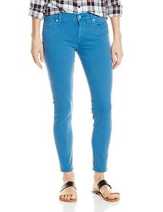 Lucky Brand Women's Brooke Ankle Skinny, Blue, 29x27 - Brought to you by Avarsha.com
