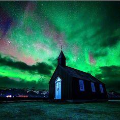 The historic black church in Budir, Iceland. Photo by @sean_ensch_images  #iceland #exploreiceland #whyiceland #nature #landscape #tourism #paradise #icelandic #icelandtravel #travel #tourist #travelgram #icelandtrip #instatravel #icelandadvice #mystopover #visiticeland #ourplanet #ig_iceland #icelandair #inspiredbyiceland #reykjavík #reykjavik #igers_iceland #beautiful #church #christian