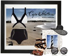 Beachwear inspired by Cape Hatteras, NC