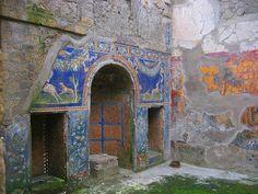Interior de uma residência em Herculano