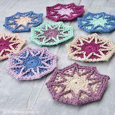 Ravelry: Wintery Octagon Mandala pattern by Tatsiana Kupryianchyk