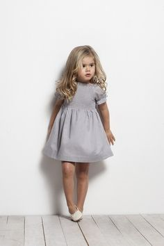 Ideas for dress cute kids Little Girl Outfits, Little Girl Fashion, Toddler Fashion, Kids Fashion, Cute Outfits, Toddler Girl Style, Simple Outfits, Little Fashionista, Stylish Kids