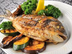 Fishes are a major source of Omega-3 fatty acid which is key for vision development.