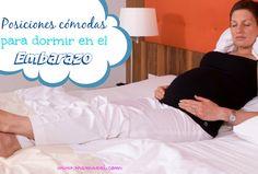 posiciones cómodas para dormir en el embarazo