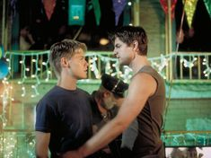 Brian and Justin. Showtime - Gallery - Queer As Folk Memorable Moments