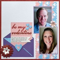 it happened like this...: scrapbook layouts