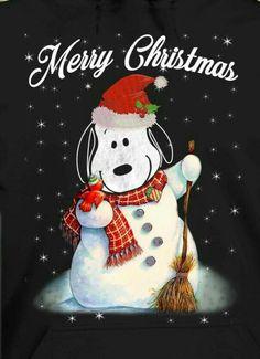 snoopy the snowman! Office Christmas, Christmas Art, Christmas Greetings, Vintage Christmas, Xmas, Peanuts Christmas, Charlie Brown Christmas, Charlie Brown And Snoopy, Peanuts Cartoon