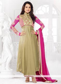 Amisha Patel Style Georgette Anarkali Suit