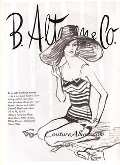 B. Altman & Co great artwork of a lovely nightgown