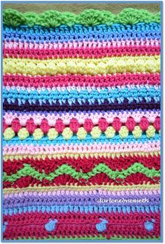 Crocheted+Stitch+Sampler+Blanket+2.jpg (652×964)
