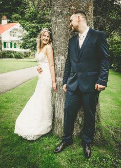 Okehampton wedding.   On the green...
