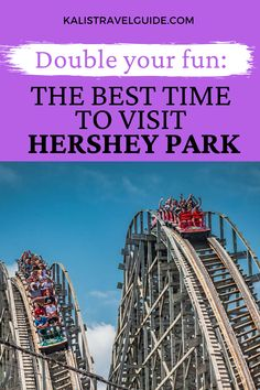 This most helpful guide will tell walk through the best time to visit Hershey Park, as well as the best attractions going on each season.  #hersheypark #hersheypennsylvania #pennsylvaniafamilyvacation #daytrip #centralpennsylvaniatravel Usa Travel Guide, Travel Usa, Travel Guides, Travel Tips, Places To Travel, Travel Destinations, Hershey Pennsylvania, Hershey Park, Visit Usa