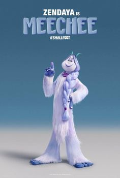 First trailer and character posters for animated adventure Smallfoot 2018 Movies, New Movies, Movies Free, Movies Online, Channing Tatum, Cartoon Movies, Cartoon Characters, Character Names, Character Design