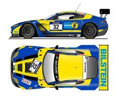 Aston Martin Vantage GT3 + Top