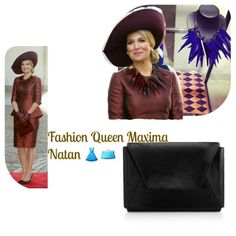 Fashion  of Queen Maxima during the visted of the Spanish King and Queen. The dress from Queen Maxima is a 2 piece by Natan the clutch is new and also from Natan just as the necklace also from Natan The hat is from Fabienne Delvigne  #fashion  #QueenMaxima #dresss #clutch #necklace #Natan #EdourdVermeulen #hat #FabienneDelvigne