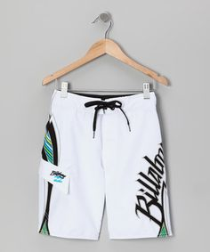 Take a look at this White Occy Boardshorts - Boys by Billabong on #zulily today!