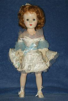 "Vintage 18"" American Character Sweet Sue Hard Plastic Doll Ballerina Walker"