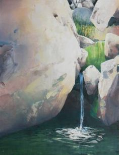 "Saatchi Art Artist Randall David Tipton; Painting, ""Downstream Tahquitz"" #art"