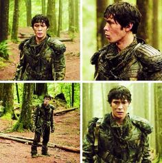 Bellamy in grounder clothing #The100 #2x10