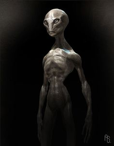 aliens pictures | harvey the alien by aaron sims do you believe aliens exist or once ...