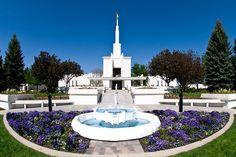 Denver | Click to enlarge this image of the Denver Colorado Mormon Temple