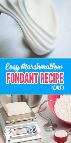 The best fondant recipe made from marshmallows! It will make a fondant lover out of you! A fondant recipe that doesn't rip, tear or get elephant skin! A favorite recipe from hobby bakers and professional cake decorators alike! Cake Decorating For Beginners, Creative Cake Decorating, Cake Decorating Techniques, Cake Decorating Tutorials, Cookie Decorating, Best Fondant Recipe, Homemade Fondant Recipes, Icing Recipe, Fondant Recipe For Beginners