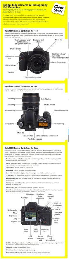 Digital SLR Camera Controls #Photography