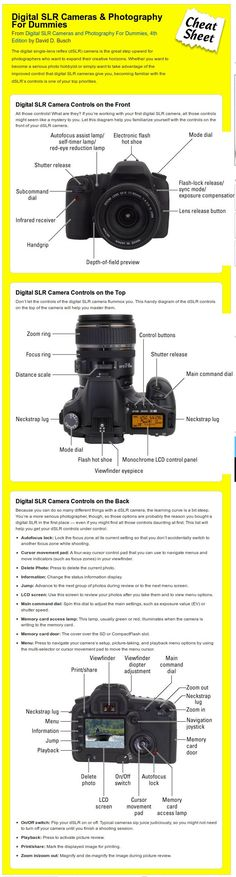 Digital SLR Camera Controls #Photography