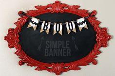 eighteen25: Simple BOO Banner