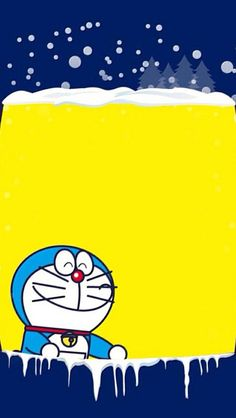 Doraemon Cartoon, Doraemon Wallpapers, Matching Wallpaper, Birthday Wallpaper, Free Printable Birthday Invitations, Anime Fnaf, Type Illustration, Blue Cats, Cartoon Wallpaper