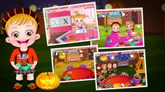 Baby Hazel is excited about the Pumpkin Party organized by her friend, Jasmine. Let us join Hazel and her friends to enjoy various games and savor delicious treats in this party. https://itunes.apple.com/lb/app/baby-hazel-pumpkin-party/id946818338?mt=8
