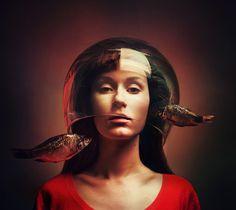 Surreal Self-Portrait Photography By Flora Borsi