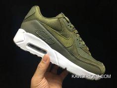 Nike Air Max 90 ultra Military Green 2.0 Pelle Art.924447 300