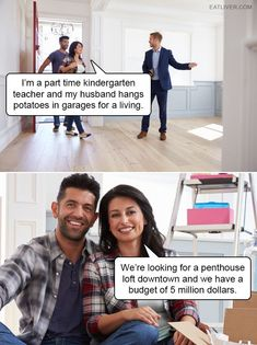 Every Couple On Real Estate Shows #realestatememes #realestatefunny