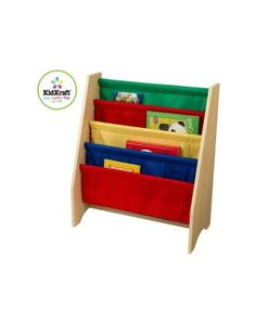 20 Best Bookcases for Boys and Girls: Sling Bookshelf (via Parents.com)