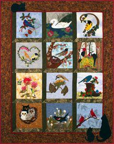 piecemakers quilt shop   2015 calendar quilt nature s chorus contact piecemakers at 714 641 ...