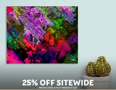 Discover «Visual Symphony», Numbered Edition Canvas Print by Diana  Coatu - From $49 - Curioos