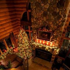 would love to spend Christmas in a cabin someday :)