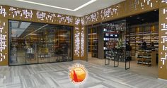 WINE STORES! Kavistanbul wine store, Istanbul.  Love the way light is brought in