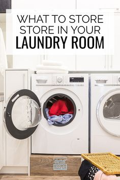 What's better - laundry room cabinets or shelves? Browse these ideas and learn how to store all your laundry supplies in a beautifully organized space. Laundry Room Shelves, Laundry Room Cabinets, Laundry Closet, Laundry Room Organization, Organization Hacks, Organizing Ideas, Declutter Your Home, Organizing Your Home, Laundry Supplies