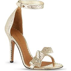 ISABEL MARANT Play metallic sandals | SS 2014 | cynthia reccord