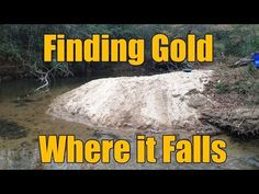 Where the Gold Hides in Creeks - Gravels and Inside Bends Minerals And Gemstones, Rocks And Minerals, Gold Sluice Box, Gold Mining Equipment, Gold Deposit, Garrett Metal Detectors, Gem Hunt, Panning For Gold, Scrap Gold