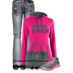 Running around, created by cindycook10 on Polyvore