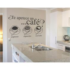 ¿Te apetece un café? Usa esta idea para decorar tu cocina o comedor.