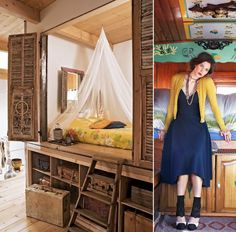 Gypsy trend in decorating.