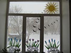 Мастер-класс «Украшаем окна к весне» Фото
