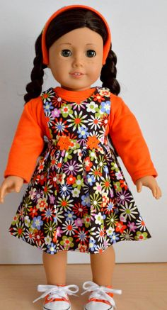 Your place to buy and sell all things handmade All American Doll, American Doll Clothes, Girl Doll Clothes, Doll Clothes Patterns, Doll Patterns, American Girl, Boy Doll, Girl Dolls, Ag Dolls