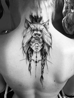 Wolf Tattoo Designs For Men56