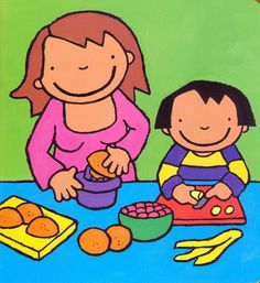 Afbeeldingsresultaat voor anna eet fruit
